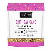 Safe + Fair Birthday Cake Granola, 24 oz.