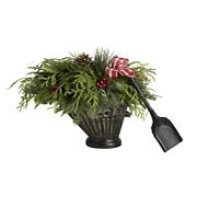 Coal Bucket Centerpiece