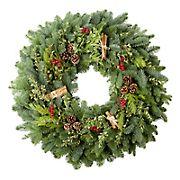 """24"""" Cinnamon Spice Wreath"""