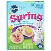 Pillsbury Spring  Shape Sugar Cookie Dough, 3 ct.
