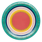 "Artstyle 'Circle Soiree' 6.875"" Paper Dessert Plates, 75 ct."