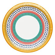 "Artstyle 'Circle Soiree' 10.125"" Paper Dinner Plates, 40 ct."