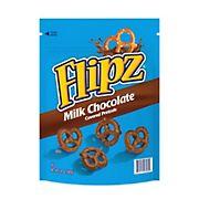 Flipz Milk Chocolate Covered Pretzels Stand Up Bag, 24 oz.