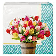 Artstyle 'Pretty Little Tulips' Spring Paper Napkins 3-Ply, 120 ct.