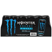 Monster Low Carb Energy Drink, 24 ct./16 oz.