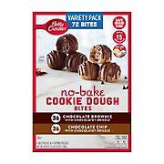 Betty Crocker No Bake Cookie Dough Bites, 72 ct.