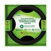 MiLife Health Antimicrobial Copper Infused Steering Wheel Cover