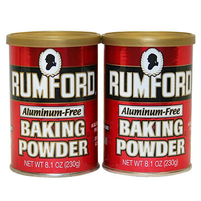 Rumford Aluminum-Free Baking Powder, 2 pk./8.1 oz.