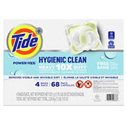 Tide Hygienic Clean Heavy Duty Pods Liquid Laundry Detergent, 68 ct.
