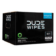 DUDE Wipes Extra Large Fragrance Free Wipes, 336 ct.
