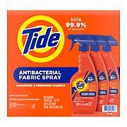 Tide Antibacterial Fabric Spray, 3 ct.
