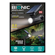Bell+Howell Bionic Spotlight- Solar Security Light