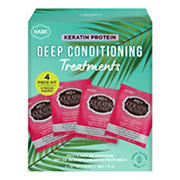Hask Keratin Protein Deep Conditioning Treatments Box, 4 ct.