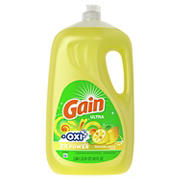 Gain Ultra Dishwashing Lemon Zest Liquid Dish Soap, 90 fl. Oz.
