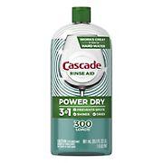Cascade Power Dry Dishwasher Rinse Aid, 30.5 fl. Oz.