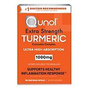 Qunol Turmeric Veggie Caps, 120 ct.