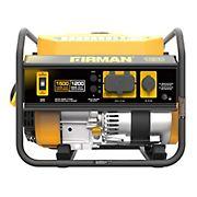 FIRMAN Power Equipment P01202 Gas 1500W Peak/1200W Rated Generator