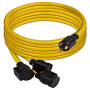 FIRMAN Power Equipment 25' 1101 TT-30P to (3)5-20R Power Cord