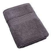 Berkley Jensen Cotton Bath Towel - Gray