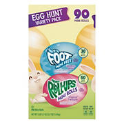 Fruit Roll-Ups and Fruit by the Foot Easter Minis Variety Pack, 90ct