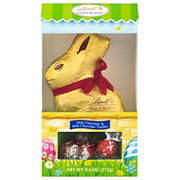 Lindt Gold Bunny with Truffle Hutch