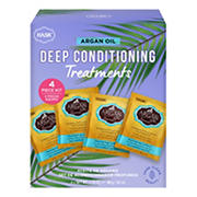 Hask Argan Oil Deep Conditioning Treatments Box, 4 ct.