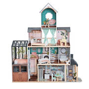 KidKraft Celeste Mansion Dollhouse with EZ Kraft Assembly