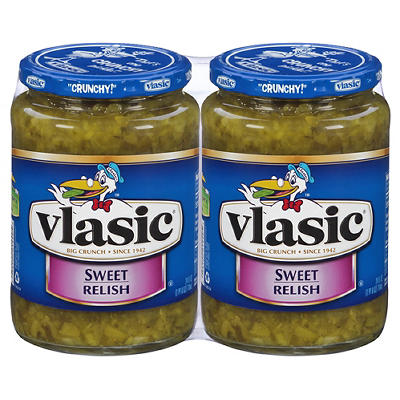 Vlasic Sweet Relish, 2 pk./24 oz.