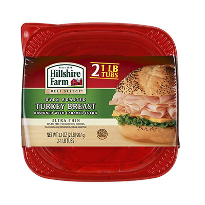 Hillshire Farm Thin Sliced Oven Roasted Turkey Breast, 32 oz.