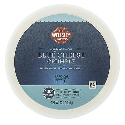 Wellsley Farms Signature Blue Cheese Crumble, 12 oz.