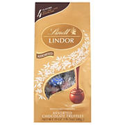 Lindt Lindor Milk Chocolate Assorted Truffles, 19 oz.