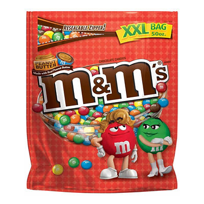 Peanut Butter M&M's, 50 oz.