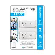 Brookstone Slim Smart Plug, 2 pk.