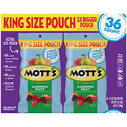 Mott's Fruit Flavored Snacks Assorted Fruit, 36ct