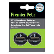 Premier Pet 6V Lithium Batteries, 2 pk.