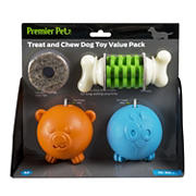 Premier Pet Treat and Chew Toy Value Pack
