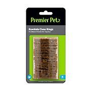 Premier Pet Rawhide Chew Ring Refills - Medium, 16 pk.