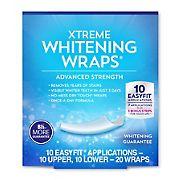 Berkley Jensen Xtreme Advanced Strength Whitening Wraps, 20 ct.