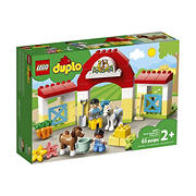 LEGO DUPLO Town Horse Stable and Pony Care 10951 Building Set, 65 Pc,