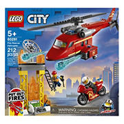 LEGO City Fire Rescue Helicopter 60281 Building Kit (212 Pieces)