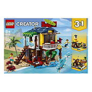 LEGO Creator 3-in-1 Surfer Beach House 31118 Building Kit, 564 pc.
