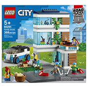 LEGO City Family House 60291 Building Kit, 388 pc.