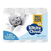 White Cloud 2-Ply Bath Tissue, 24 ct.