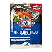 Kingsford Heavy Duty Aluminum Grill Bags, 12 ct.