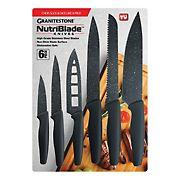 GraniteStone NutriBlade 6-Pc. Knife Set