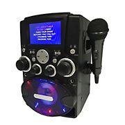 Sylvania Karaoke Machine with Bluetooth, Microphone and Disco Lights