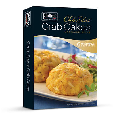 Phillips Maryland Style Crab Cakes, 6 pk./3 oz.
