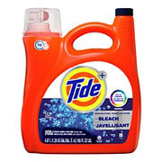 Tide with Bleach Ultra Concentrated Liquid Laundry Detergent, 165 fl. Oz.