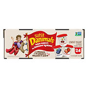 Super Danimals Variety Pack Cups, 24 ct.