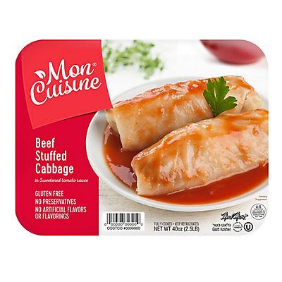Mon Cuisine NY Kosher Beef Stuffed Cabbage, 40 oz.